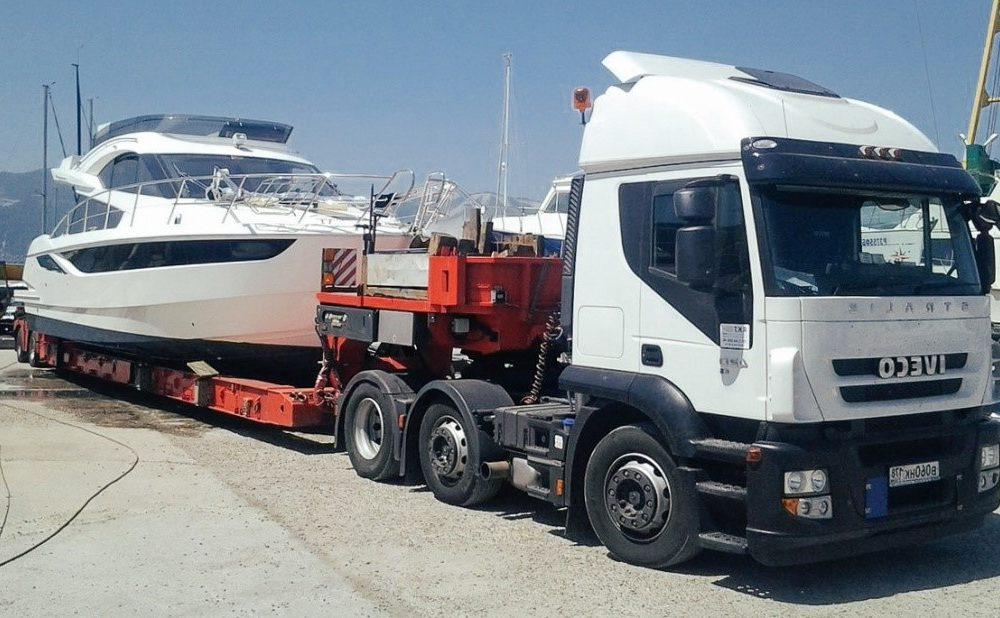 Перевозка лодок и яхт
