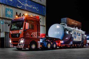Перевозка нефтегазового оборудования