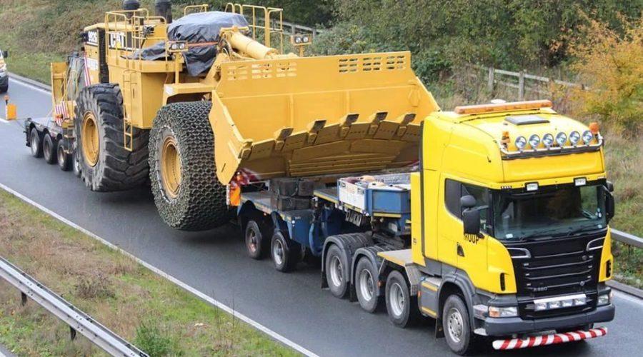 Как осуществляется перевозка спецтехники автотранспортом